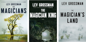 Book Covers of the Magician Trilogy