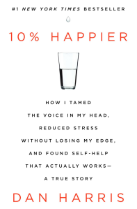 Cover of 10% Happier book