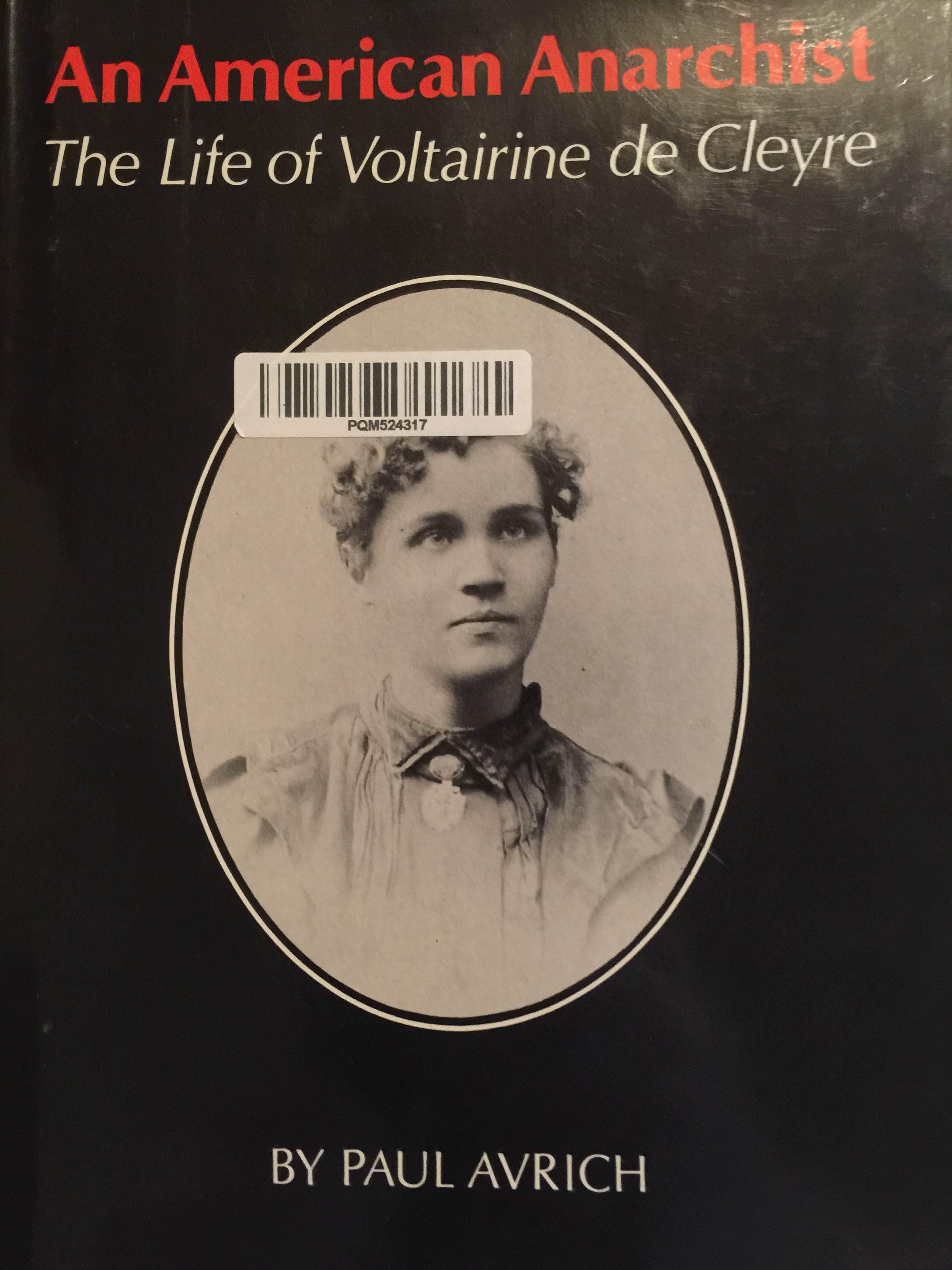 voltairine de cleyre biography of william